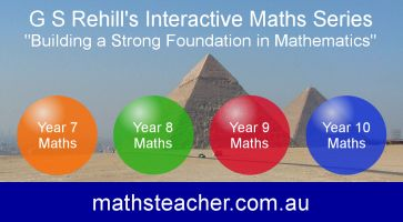 "G S Rehill's Interactive Maths Software Series - ""Building a Strong Foundation in Mathematics"" from mathsteacher.com.au."
